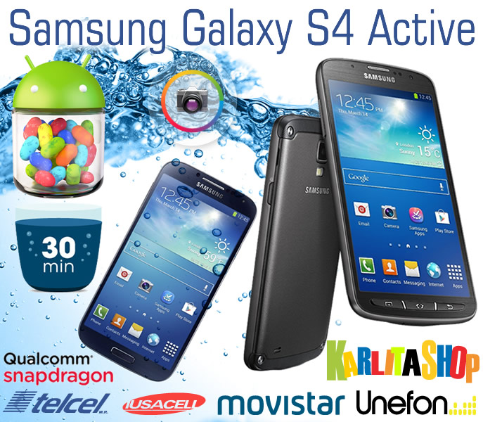 Celular Samsung Galaxy S4 Active I9295 16gb 8mp Quadcore